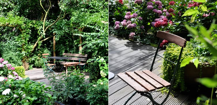 ambiente gartengestaltung in münster – kleiner stadtgarten in bocholt, Garten Ideen
