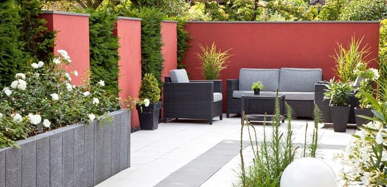 Ambiente gartengestaltung in m nster wohnzimmer im for Gartengestaltung coesfeld