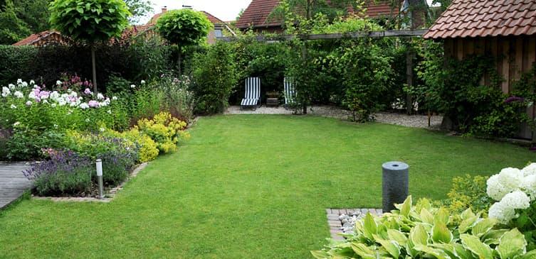 Ambiente Gartengestaltung in Münster u2013 Diagonaler Garten in Havixbeck