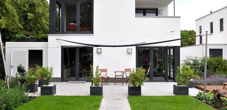 ambiente gartengestaltung in münster – symmetrie und, Garten ideen